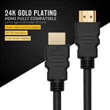 1m 2m 3m 4m 5m 10m HDMI Cable High Speed Gold Premium Quality supports all HD ready devices and gadgets (1m. HDMI Cable)(China)