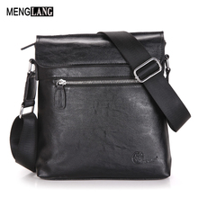 Fashion Cowhide Man Messenger Bags Quality PU Leather Male Cross Body Bag Casual Men Shoulder Commercial Briefcase MENGLANG - Menglang Store store