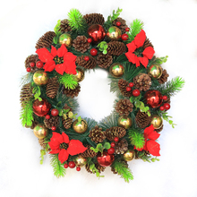 9X Christmas Pine Cones Baubles Xmas Tree Party Hanging Decorations Ornament Home Decor Wholesale Free