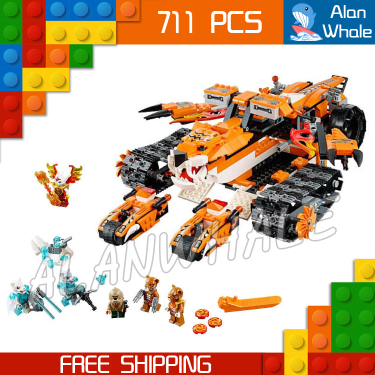711pcs Bela New 10357 Tigers Mobile Command amazing fascinating Model Building Blocks Toys Gifts For Boys Compatible with Lego<br>