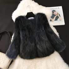 Real Fur Vest Full Slim V-neck 2017 Winter Women Genuine Raccoon Dog Coat Luxury Natural Jacket Warm Outwear