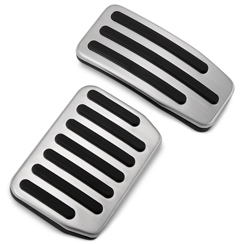 2Pcs Non-Slip Performance Car Gas Pedal Covers Brake Pedal Covers Set For Model S Model 3 Model X Foot Pedal Pads For Automatic Transmission