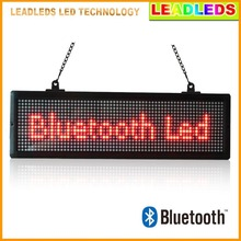20.7X 6.3 inches indoor Led display Bluetooth Programmable Scrolling Message sign Board for Business and Store - Red Message(China)