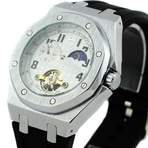 New Sports 5 Hands Automatic Self-Wind Mechanical Watches Date Week Mens Wrist Watch<br><br>Aliexpress