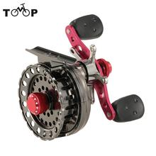 Right/Left Hand Fishing Reel 2.6:1 G-Ratio Bait Casting Fly Fishing Raft Ice Reel Wheel Fishing Tackles Tools Buque De Pesca