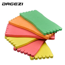 DAGEZI 50Pcs/lot EVA Foam Wire Board Fishing Winding Line Board Pesca Fishing Tackle box fishing Accessories 12cm/8cm(China)