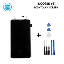 DOOGEE Y6 Y6C LCD Display+Touch Screen Original Assembly Repair 5.5 Inch Replacement Mobile Accessories+ToolS For DOOGEE Y6