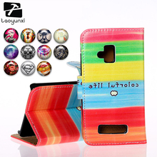 TAOYUNXI Flip PU Leather Cases For Nokia Lumia 610 N610 3.7 inch Cases Covers Anti-Scratch with Card Holders Phone Bags