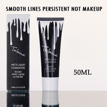 Professional Brand Foundation Makeup Waterproof Whitening Concealer Brighten 50ml Minerals Base Face Liquid Foundation Cream(China)