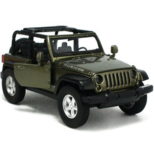 Hot sale MZ 1:32 Car Model JEEP Wrangler Alloy Children's toys Off-road vehicles Open car Military vehicle Collection baby toy