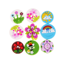 65pcs 15mm DIY Handmade Button Baby Decorative Sewing Polymer Clay Buttons Resin 2 Holes for Scrapbooking Accessories Mix Colors
