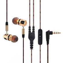 Plextone X46M Detachable HiFi In-ear Earphones with Gold Plated Plug MIC Support Plug and Play for Mobile Phone Tablet PC