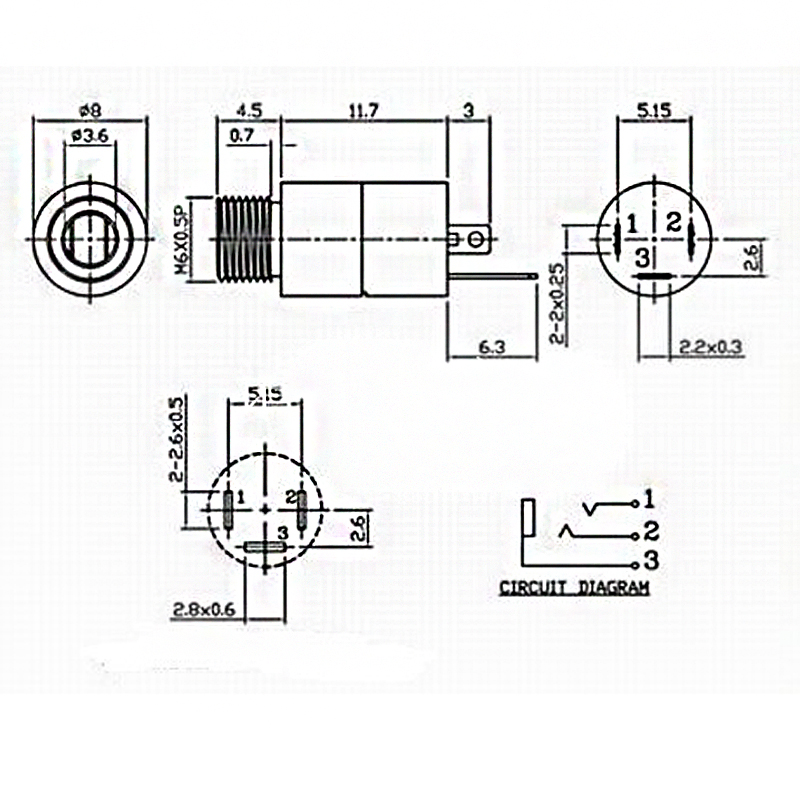 Pinout 3.5 Mm Female Jack Wiring Diagram from ae01.alicdn.com
