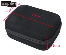 JACQUELINE for Mini Size Travel Case Bag For Xiaoyi Mount Set For Xiaomi Yi 4 K for Gopro hero5 4 session 3+ 3 2 SJCAM Action