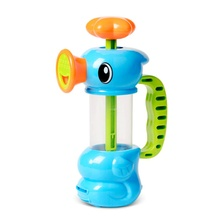 Baby Water Toys Sea Horse Sprinkler Pumping Design Colourful Hippocampal Shape Eco-friendly Plastic ABS Toy Practical JokesToys(China)