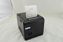 80mm Thermal Receipt Printer LAN port Auto-cutter Support barcode and multilingual print POS terminal XP-Q200