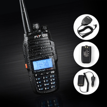 TYT TH-UV8000D Ultra-high power 10W Amateur Handheld Transceiver Dual Band Dual Display + Speaker + Eliminator Car Charger