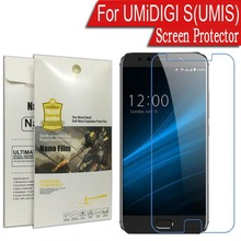 Super Thin Ultra anti-glare Soft Nano Explosion-proof Protective Film UMiDIGI S(UMIS) 5.5 inch Screen Protector - so easy store