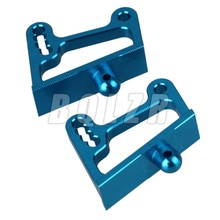 2pcs RC1:10 Alloy Blue 106045 Wing Mount for HSP 94106 94166 Off Road Car(China)