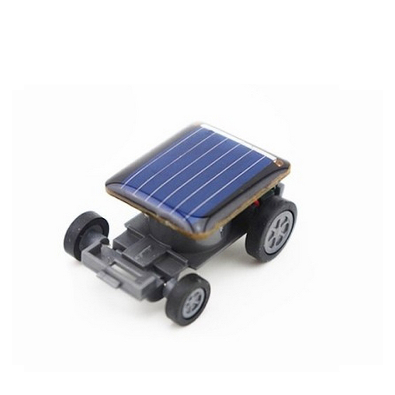 Mini Portable Novelty Funny Toy Solar Toy Car Solar Vehicle Mini Solar Energy Powered Toy Solar Car for Child Kid Boy(China)