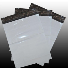 10PCS/LOT 20*35CM White Self-seal Adhesive Courier bags Plastic Poly Envelope Postal Shipping Mailing Bags
