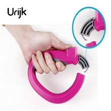Urijk 1PC Soft Grip Shopping Grocery Bag Easy Carrier Handle Holder Lock Labor Shopping Bags Holder Storage Hooks(China)