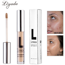 1PC Professional LIYADA Concealer Brand Cosmetics Best Cover Face Bases Contour Whitening Corrector Liquid Concealer Makeup