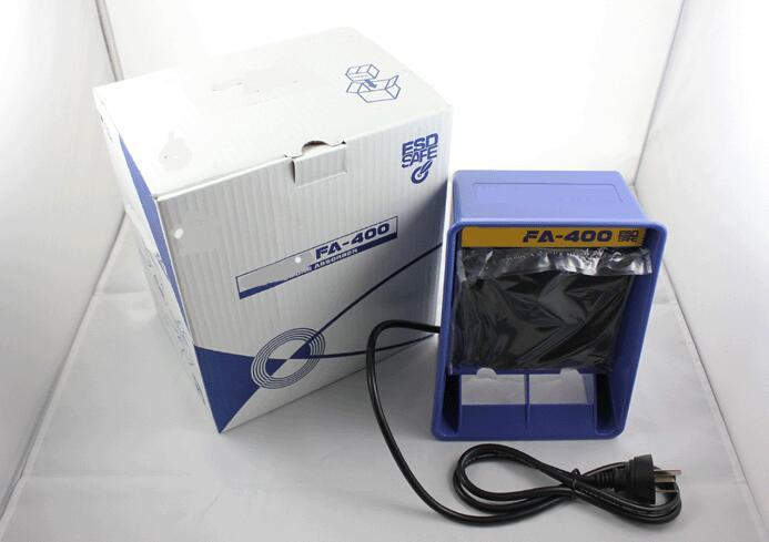Hakko FA-400 Portable Desktop Type Fume Extractor Solder Smoke Absorber for Soldering Station 220V<br>