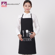Women Men Apron Restaurant Home Bib Cotton Kitchen Aprons White Avental Adult Work Party Bbq Apron Cooking Cleaning(China)