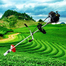 Four stroke gasoline engine hanging 139 mower brush cutter harvestable weeding machine