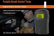 Personal Alcohol Tester with Replace Mouthpieces and Blue Backlight Breathalyzer DYT-570