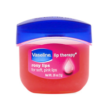 Original Vaseline Rosy Lips 7g for soft pink lips 2 pieces Moisturizing Lip wrinkles(China)