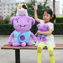 Candice guo plush toy stuffed doll cute animal anime cartoon purple crazy alien pet cat home baby birthday gift Christmas 1pc