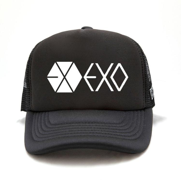 Kpop EXO spring and summer fashion tide peaked cap bts k-pop Constellation