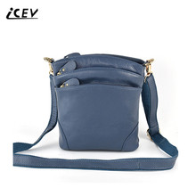 Buy ICEV Hot Sale 100% Genuine Leather Bags Handbags Women Famous Brands Organizer Women Leather Handbags Ladies Women Messenger Bag for $16.99 in AliExpress store
