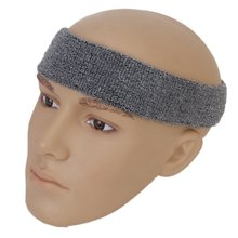 JEYL 1x Headband and 2x Elastic Wrist band for Sports - Gray