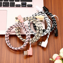 2M Type C Phone Cable USB Type C Cable USB 2.0 USB Type-C Fast Charging & Sync Data Cable Universal Phone Cables Dropshipping