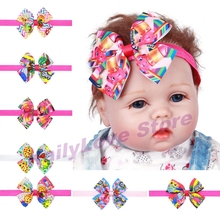 New 10 Pcs/lot Fruit Shop Hair Band Model Shopki Cute Girl Bow-knot Model For Shop Season Kid's Christmas Party Gift(China)