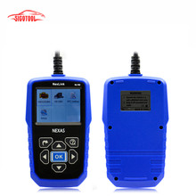 Newest Heavy Duty Truck Diagnostic Diesel Engine Scanner NEXAS NL102 OBD2 CAN Auto Kit Code Reader Free shipping