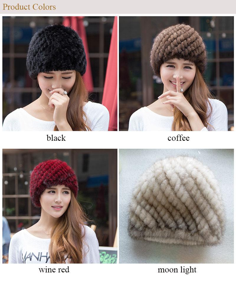 mink hat colors