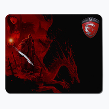 MSI Anime Gaming Mouse Pad Optical Non-slip Speed Control Notebook mouse pads Computer Mouse Pad keyboard large mouse pad