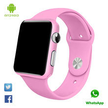 Smart Watch G10 G11 paint pink bluetooth wristwatch for women gift reloj con sim card Android Inteligente Smartwatch(China)