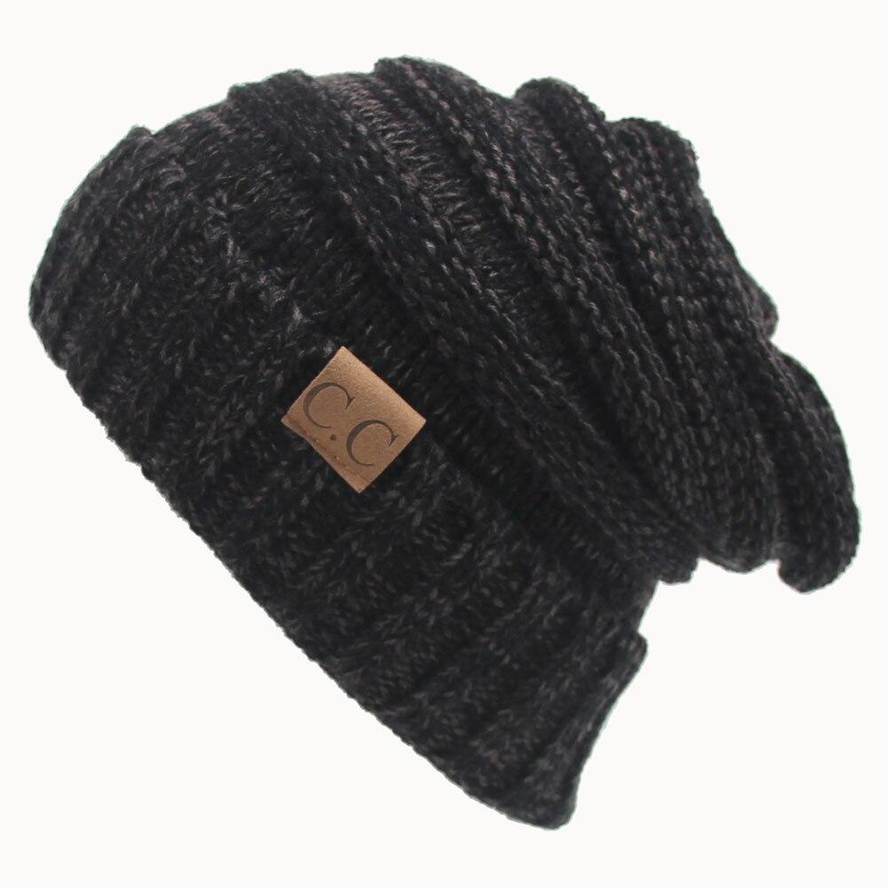 Women Men Winter Knitted Wool Cap Unisex Folds Casual Beanies Hat Solid Color Hip-Hop Skullies Beanie Hat GorrosÎäåæäà è àêñåññóàðû<br><br><br>Aliexpress