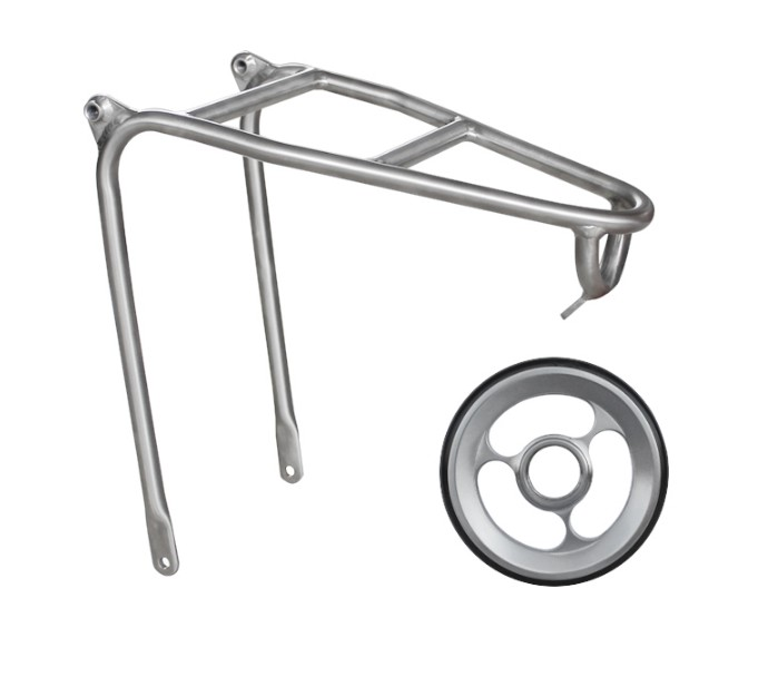 Rear-Rack Titanium-Alloy Brompton Bicycle Super-Lightweight for  title=