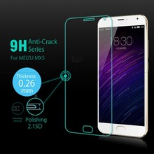 9H Arc Tempered Glass for Meizu MX5 5.5'' Screen Protector Oleophobic Coating Explosion-Proof Protective Film + Tracking Number(China)
