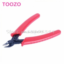 Mini 5-inch Electrical Crimping Plier Snip Cutter Hand Tool Red New #G205M# Best Quality(China)