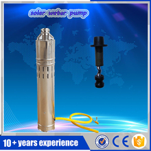 Low price 12v 2000L/H 30m dc submersible pump stainless steel pump with internal MPPT controller,1.5hp water pool pump