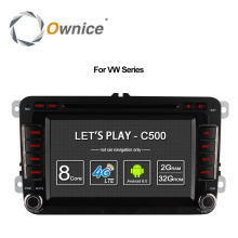 Ownice Android 6.0 8 Core 32G ROM Car DVD Player For Volkswagen Passat POLO GOLF Skoda Seat Leon With GPS Navi 4G LTE Network(China)