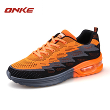 Buy Running Shoes Women Outdoor Sports Men Sneakers Cushioning Air Sole L Running Sports Shoes Walking Camping Trekking Sneakers for $28.98 in AliExpress store