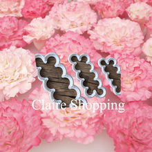 Newest Carnation Fondant cutter 3 pcs plastic cake/cookie/buscuit cutter mold fondant mold fondant cake decorating tools(China)